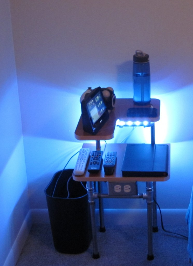 Finished Lightstand